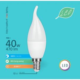 -S E14 5W C36 deko sveća 4000K LED ECO sijalica 220-240V