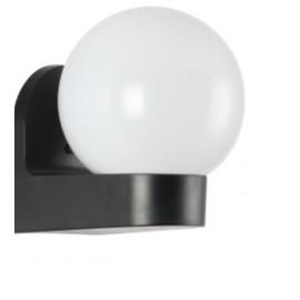 M999040 IP44 max.1x60W E27 bela kugla zidna lampa PMMA Mitea Lighting