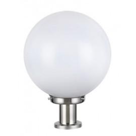 M931-S E27 max.60W bela kugla baštenska lampa stubna h:350mm IP44 PMMA Mitea Lighting