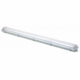 M205601 2x18W LED vodonepropusna svetiljka SINGLE END sa uključenim led cevima 6500K PC Mitea Lighting