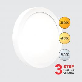 M18NO-3u1 18W sa promenljivom bojom svetla 3000/4000/6500K beli okrugli LED panel Mitea Lighting