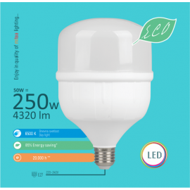 -S E27 50W T7 6500K 138x206mm LED ECO sijalica 220-240V Mitea Lighting