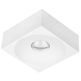 M953044 bela 3W 6500K LED lampa nadgradna Mitea Lighting