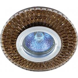 M206048 Ugradna svetiljka staklena braon okrugla Mitea Lighting