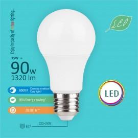-S E27 15W A60 6500K LED ECO sijalica 220-240V