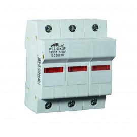 ME-CO14x51 3P nosač cilindričnog osigurača sa 500V max.63A