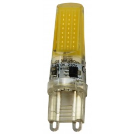 -S G9 3W 6500K 260lm LED COB silikonska sijalica 230V Mitea Lighting