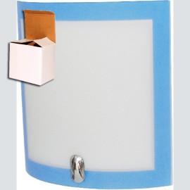 -R M1952-B10 BOX plava zidna lampa 1xE27 Max.60W Mitea Lighting