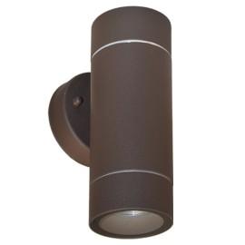 M950010 B BRAON 2xGU10 max.35W baštenska lampa zidna Mitea Lighting