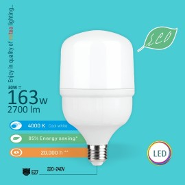 -S E27 30W T7 4000K 100x171mm LED ECO sijalica 220-240V Mitea Lighting