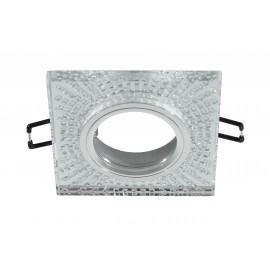 M206049 Ugradna svetiljka transparentna+kristali kvadratna Mitea Lighting