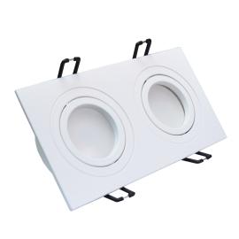 M206018 Ugradna dupla svetiljka bela pravougaona Mitea Lighting