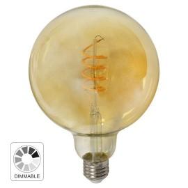 -S E27 4W G125 2700K filament AMBER LED FLEX dimabilna sijalica 230V 300lm Mitea Lighting