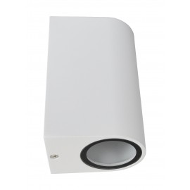M952010 W BELA 2xGU10 baštenska lampa zidna Mitea Lighting