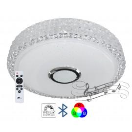 M205440-BT/RGB 2x24W fi390mm LED SMD plafonjera sa zvučnikom 5W, bluetooth, Android/iOS APP iLink (muzička plafonjera) Mitea Lighting