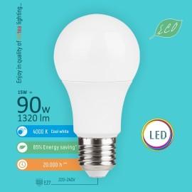 -S E27 15W A60 4000K LED ECO sijalica 220-240V Mitea Lighting