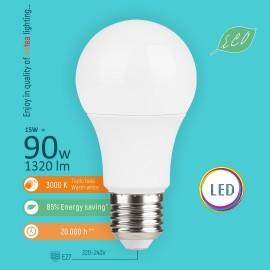-S E27 15W A60 3000K LED ECO sijalica 220-240V Mitea Lighting