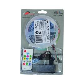 MLP-5050-30 BLISTER magic RGB LED traka 5m 12V 7,2W 30 LED/1m IP20 sa kontrolerom 17 tastera (napajanje u kompletu) Mitea Lighting
