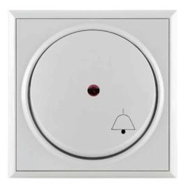 Metalka Majur taster zvono sa indikatorom beli bezvijčana veza P+