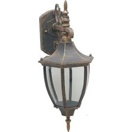 M2003-D BRAON max.1x60W E27 baštenska lampa, fenjer Mitea Lighting