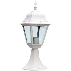 M2001-S BELI max.1x60W E27 baštenska lampa, fenjer Mitea Lighting