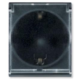 Aling 2M priključnica šuho II sa poklopcem antracit 653.AT MODE