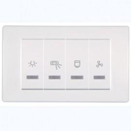 Aling horizontalni kupatilski indikator 66913.00 2x10 + 2x16 250V MODE