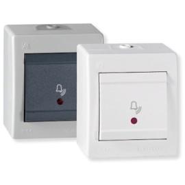 Aling taster zvono sa indikatorom beli IP44 256I.00 OG Power
