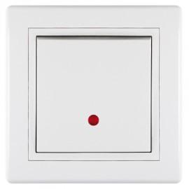 Aling prekidač običan sa indikacijom 625.00 Prestige beli